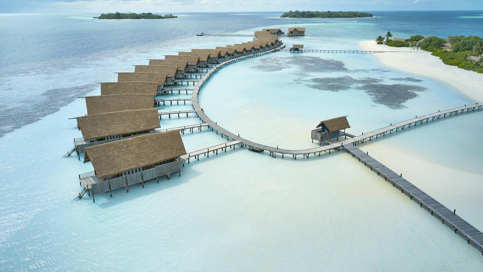 Мальдивы, отель COMO Cocoa Island, водные виллы