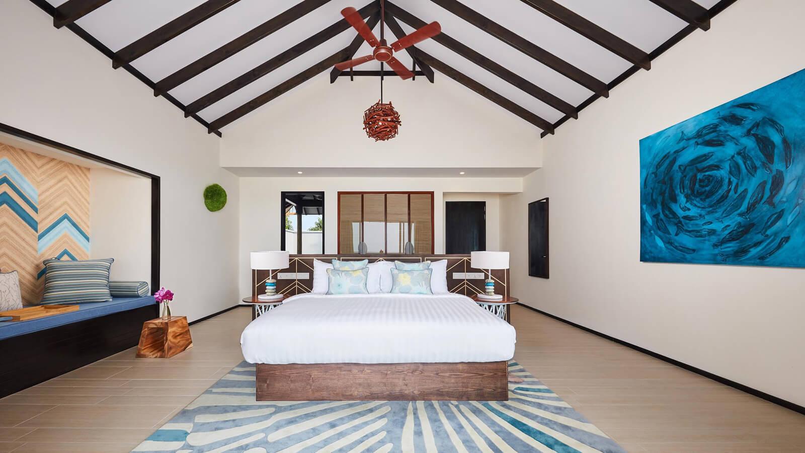 Мальдивы, Отель Amari Havodda Maldives, номер Beach Pool Villa