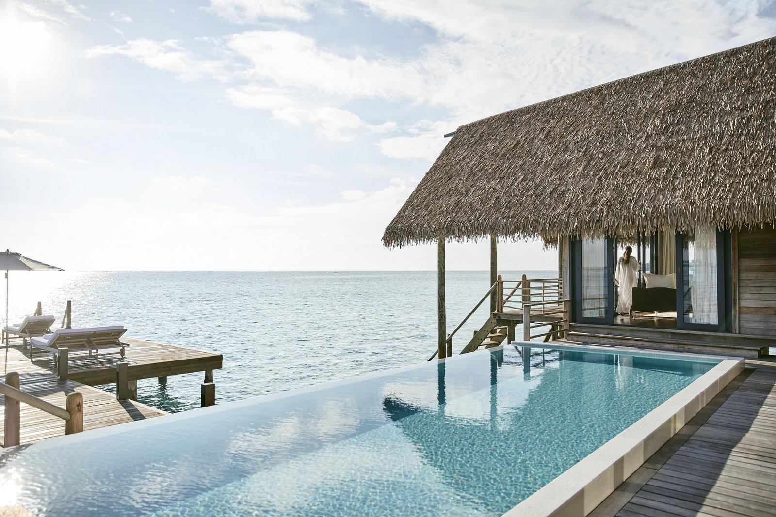 Мальдивы, Отель COMO Cocoa Island, номер Cocoa Water Villa with Pool