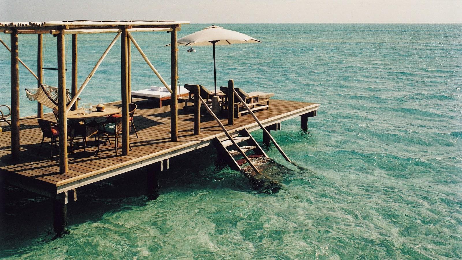 Мальдивы, Отель COMO Cocoa Island, номер COMO Water Villa