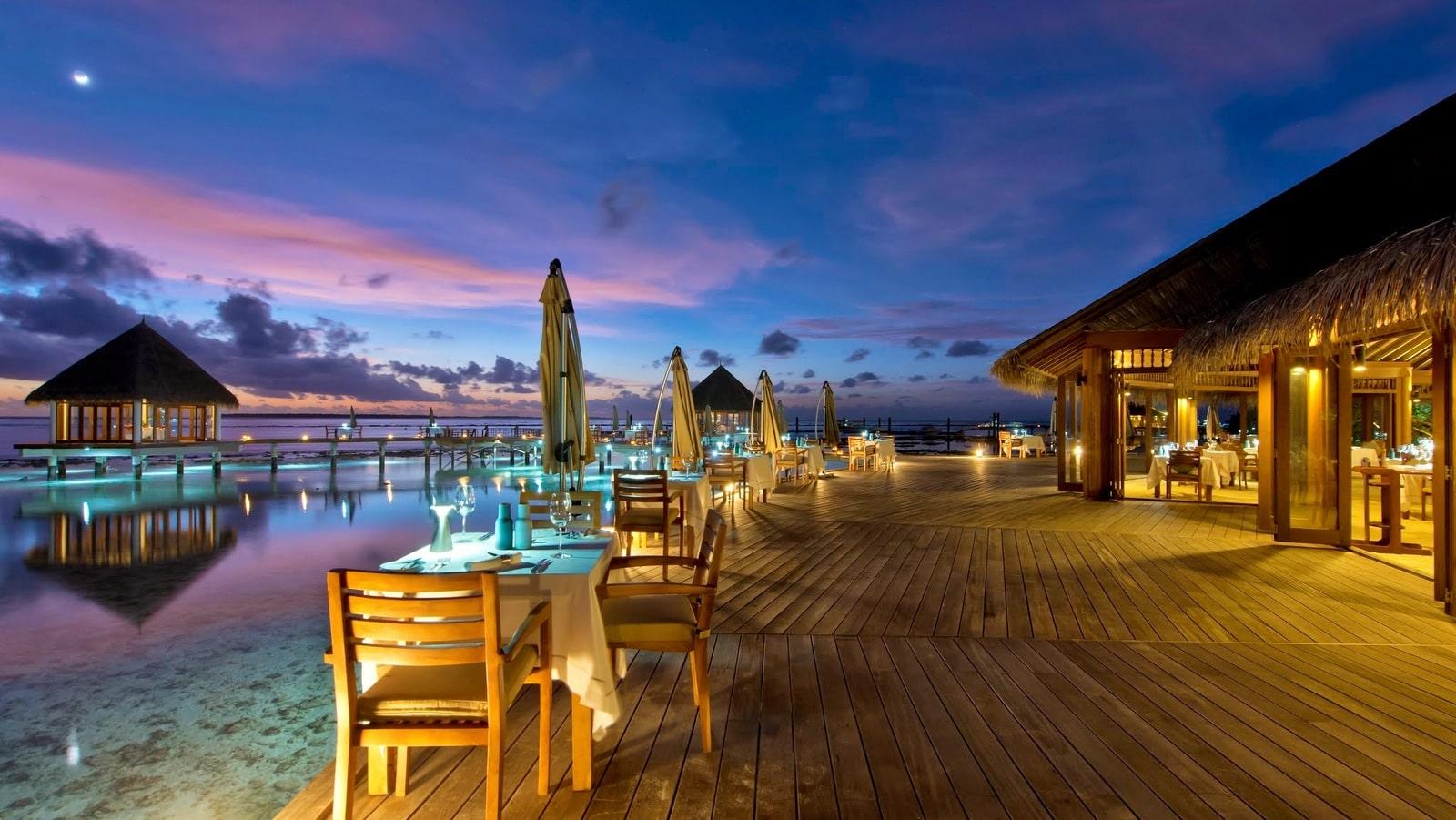 Мальдивы, отель Hideaway Beach Resort & Spa, MATHEEFARU
