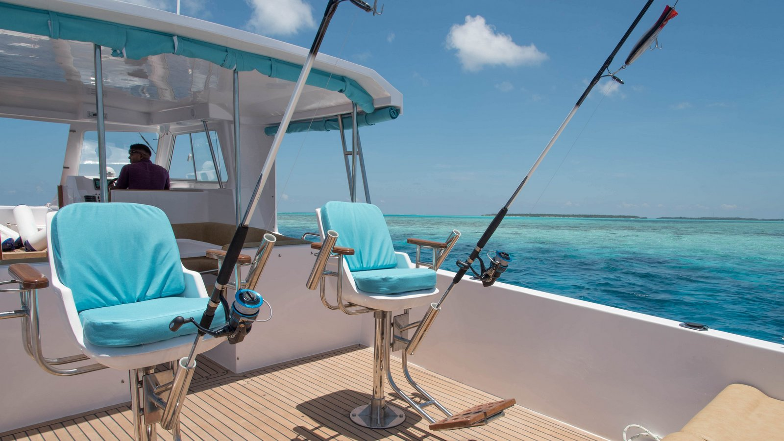 Мальдивы, отель Hideaway Beach Resort & Spa, рыбалка
