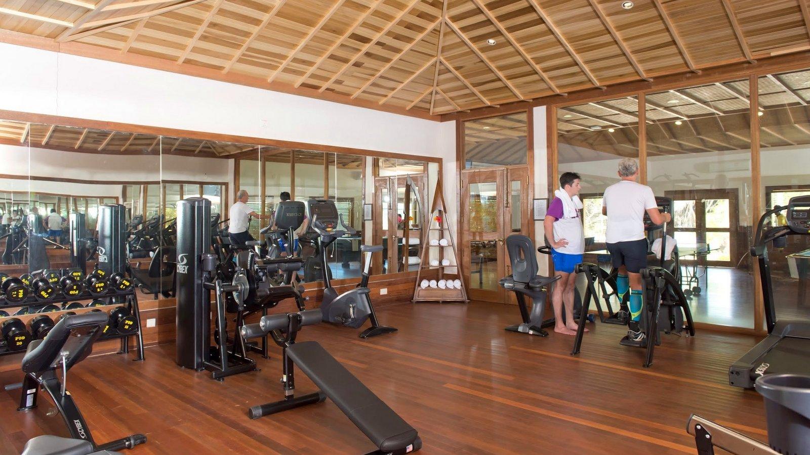 Мальдивы, отель Hideaway Beach Resort & Spa, фитнес центр