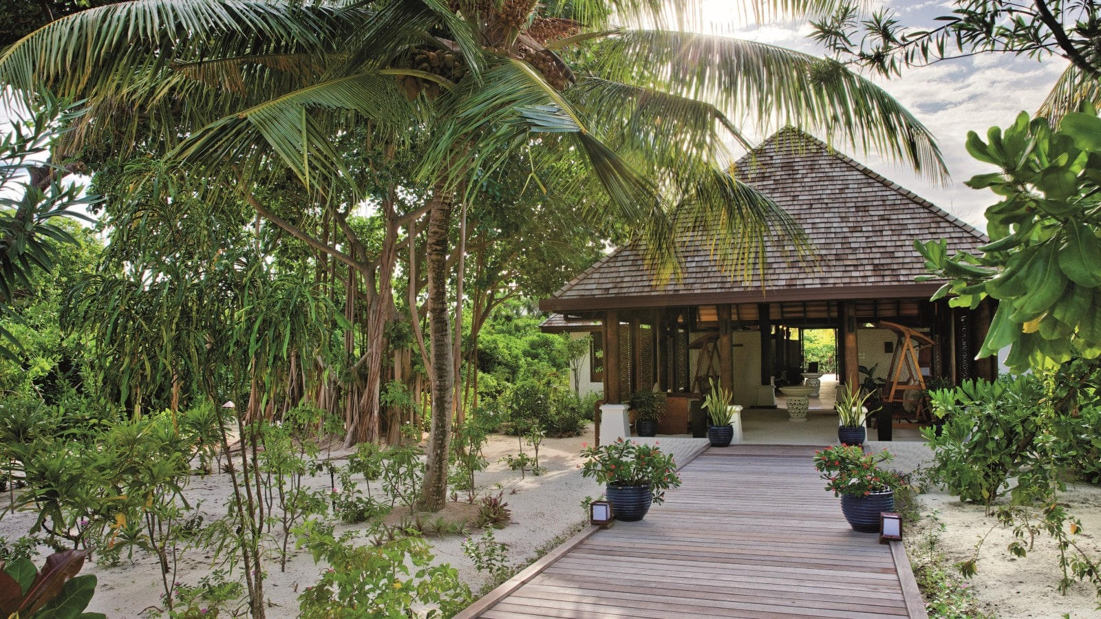 Мальдивы, отель Hideaway Beach Resort & Spa, спа