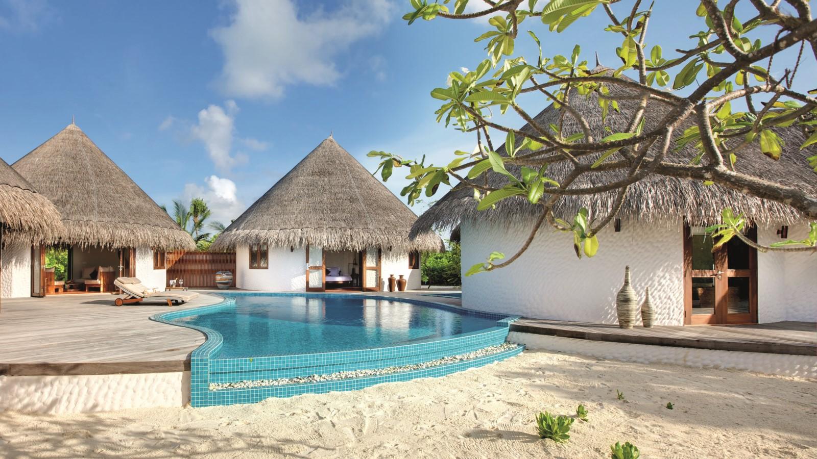 Мальдивы, Отель Hideaway Beach Resort & Spa, номер Hideaway Palace