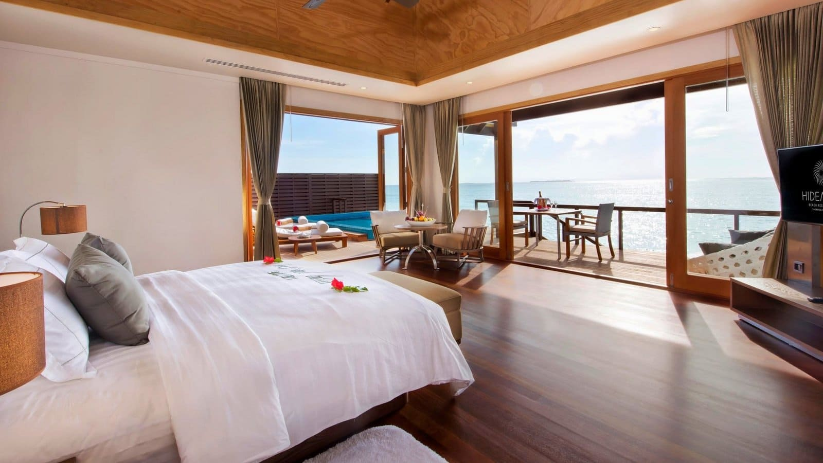Мальдивы, Отель Hideaway Beach Resort & Spa, номер Ocean Villa 2-Bedroom with Pool
