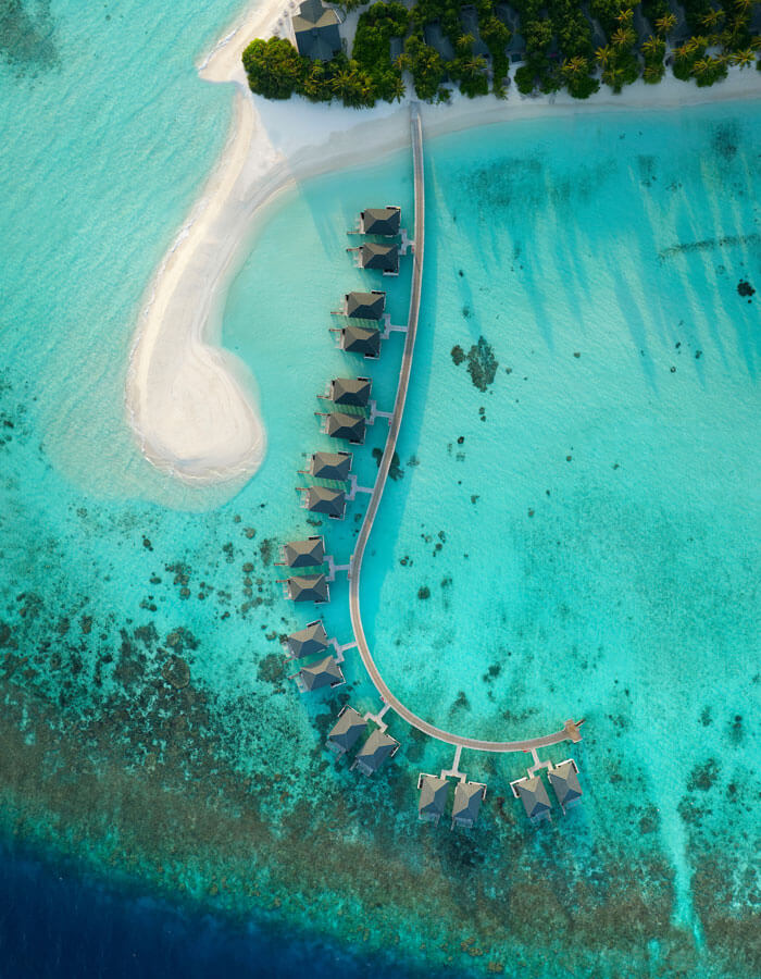 Мальдивы, отель Amari Havodda Maldives, водные виллы