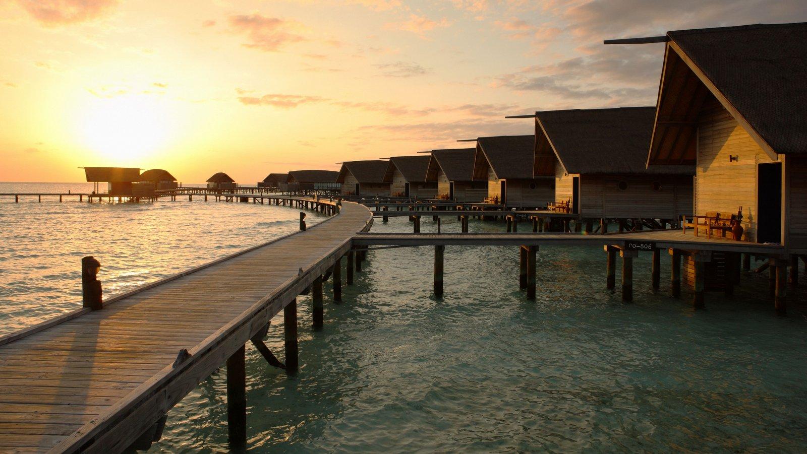 Мальдивы, Отель COMO Cocoa Island, номер Loft Water Villa