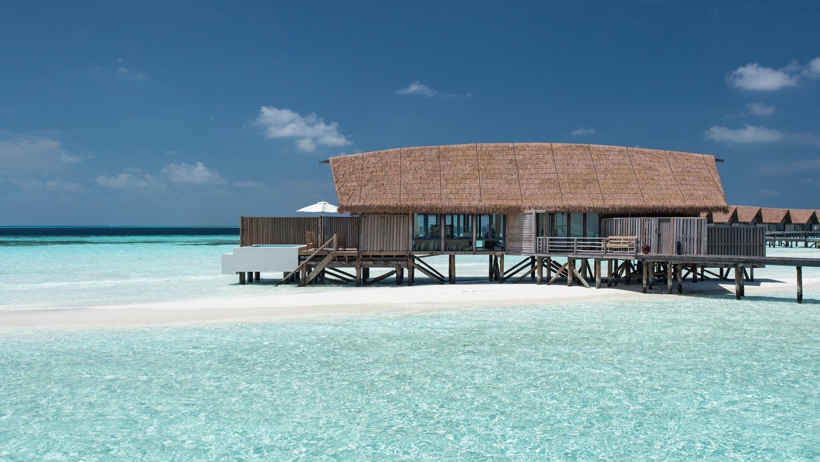 Мальдивы, Отель COMO Cocoa Island, номер One Bed Room Water Villa with Pool