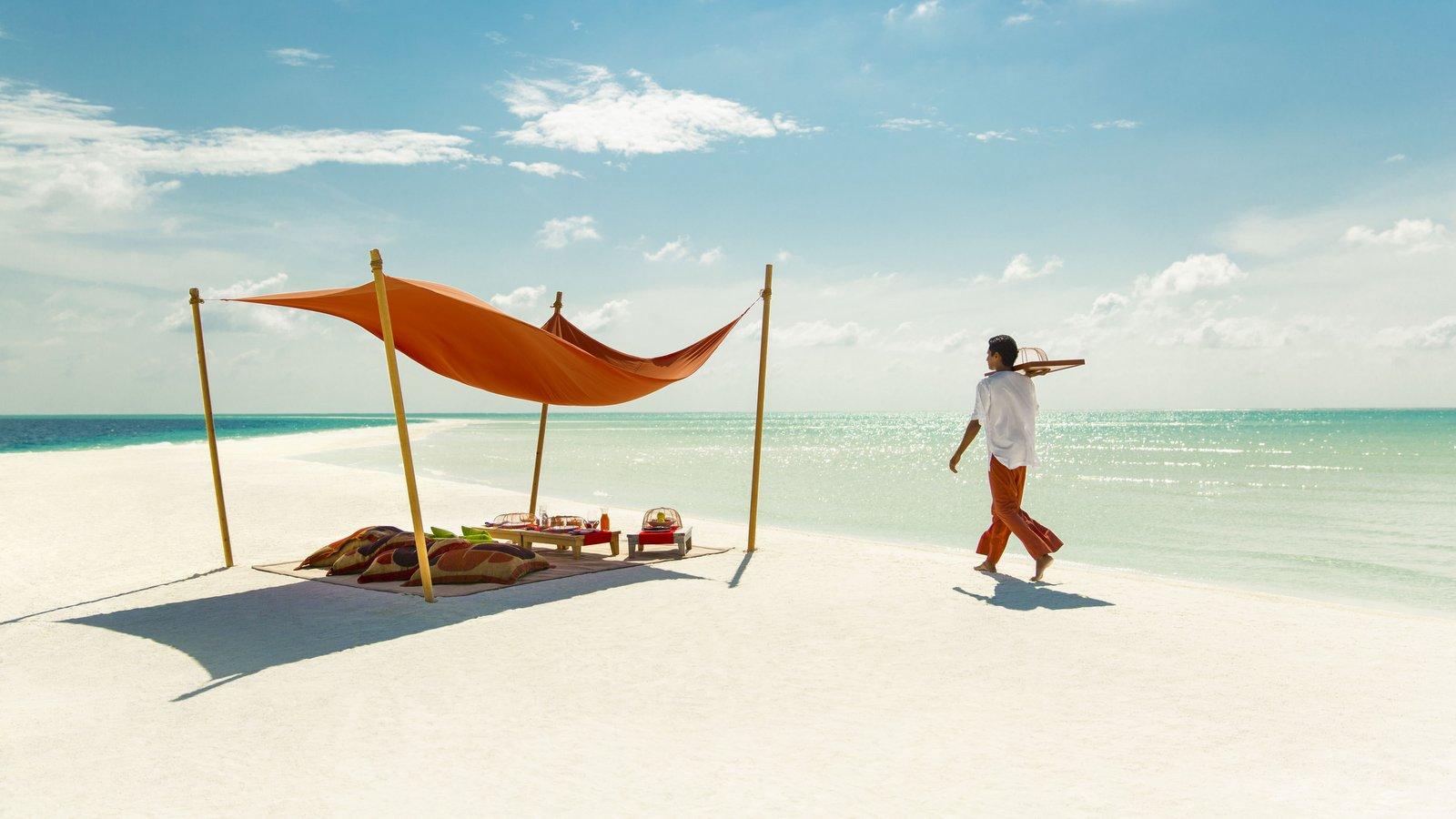 Мальдивы, отель COMO Cocoa Island, пикник