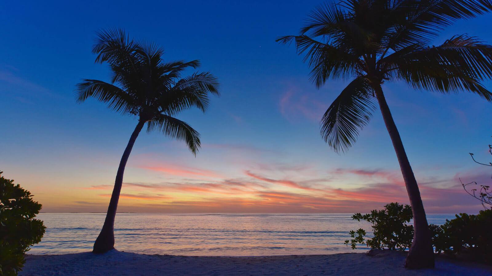 Мальдивы, Отель Amari Havodda Maldives, номер Sunset Beach Villa