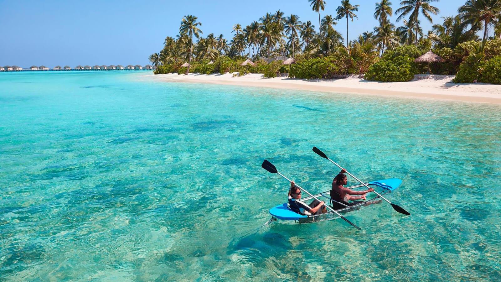 Мальдивы, отель Amari Havodda Maldives, каякинг