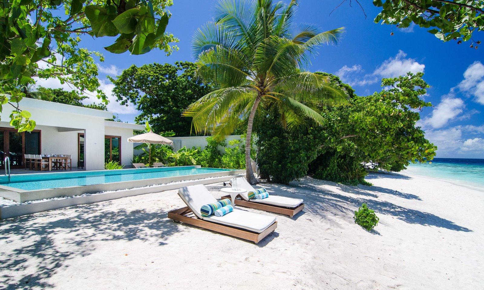 Мальдивы, Отель Amilla Fushi Maldives, номер Beach Pool Villa
