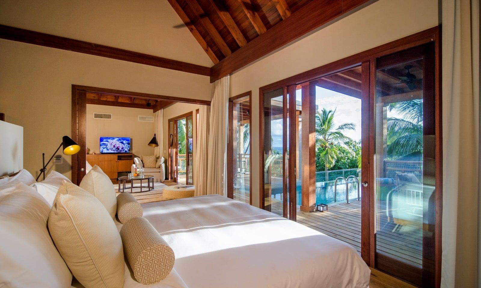 Мальдивы, Отель Amilla Fushi Maldives, номер Tree Pop Pool Villa