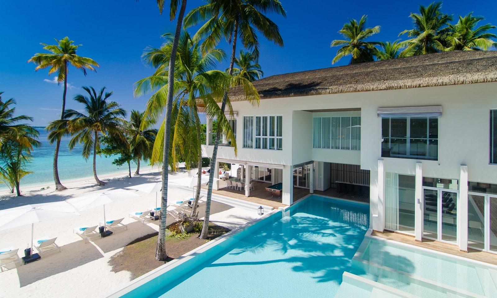 Мальдивы, Отель Amilla Fushi Maldives, номер The Amila Estate Residence
