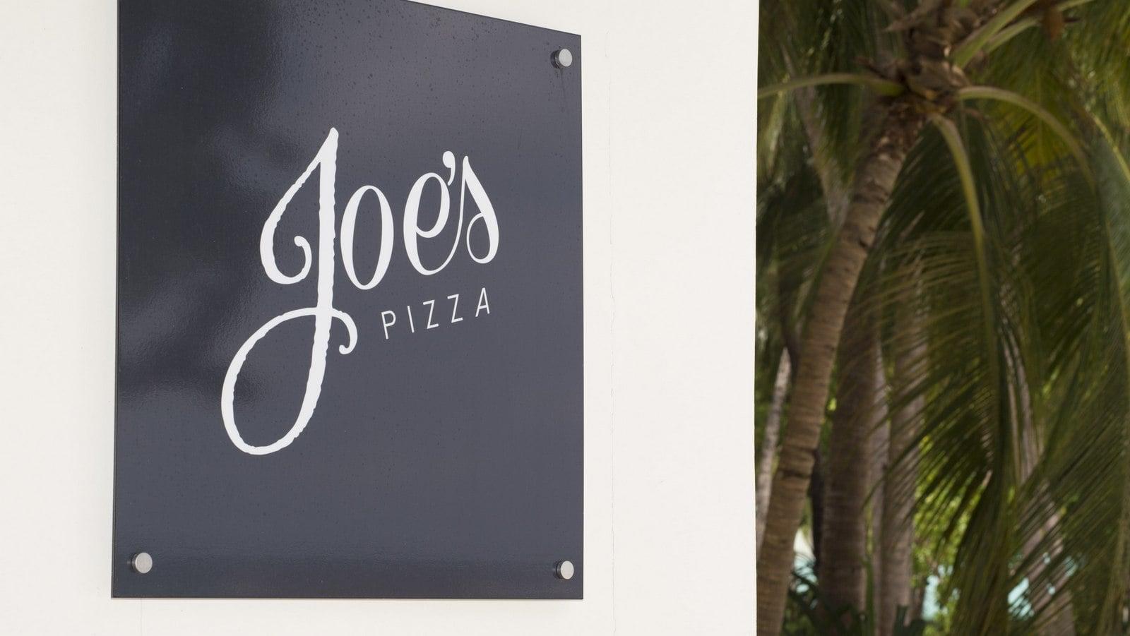 Мальдивы, отель Amilla Fushi Maldives, Joes Pizza