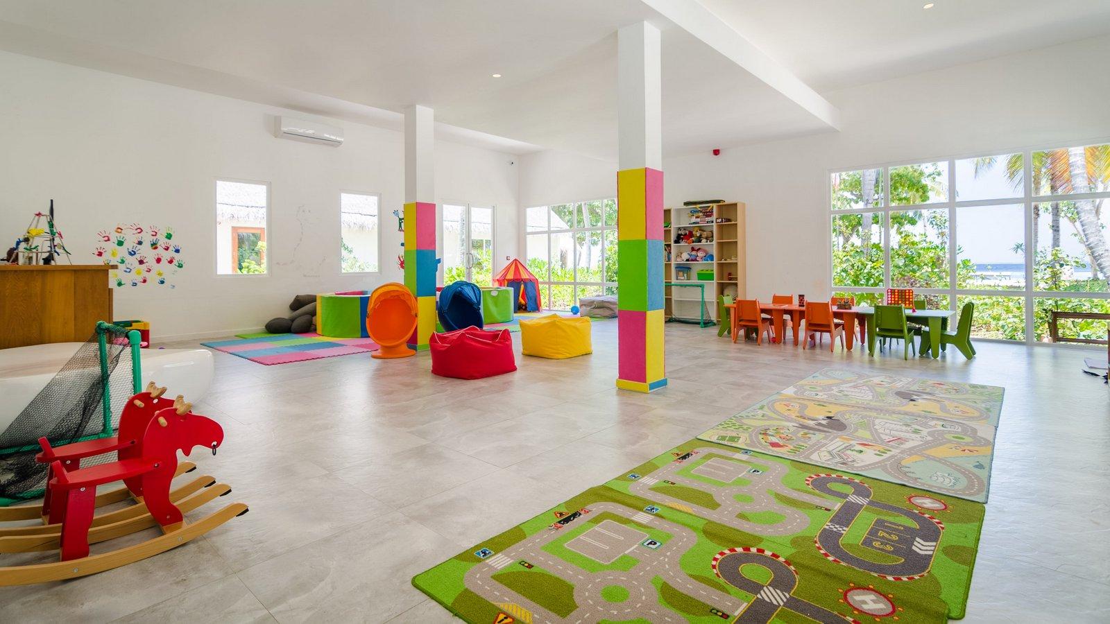 Мальдивы, отель Amilla Fushi Maldives, детский клуб