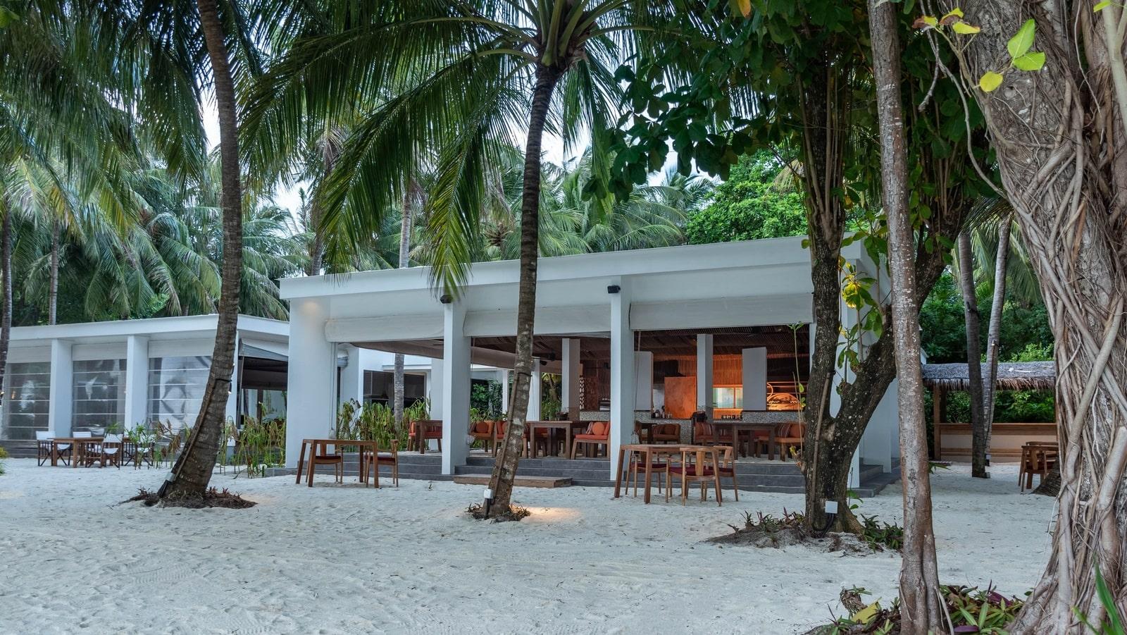 Мальдивы, отель Amilla Fushi Maldives, детское кафе