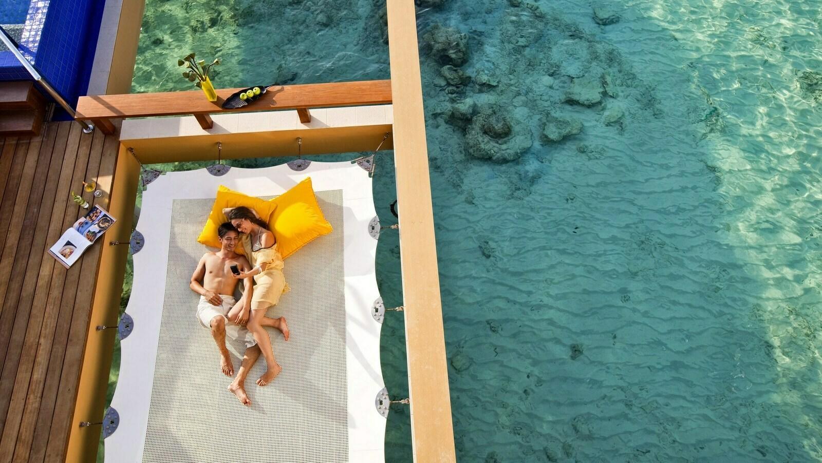 Мальдивы, отель Angsana Velavaru, номер Deluxe InOcean Pool Villa