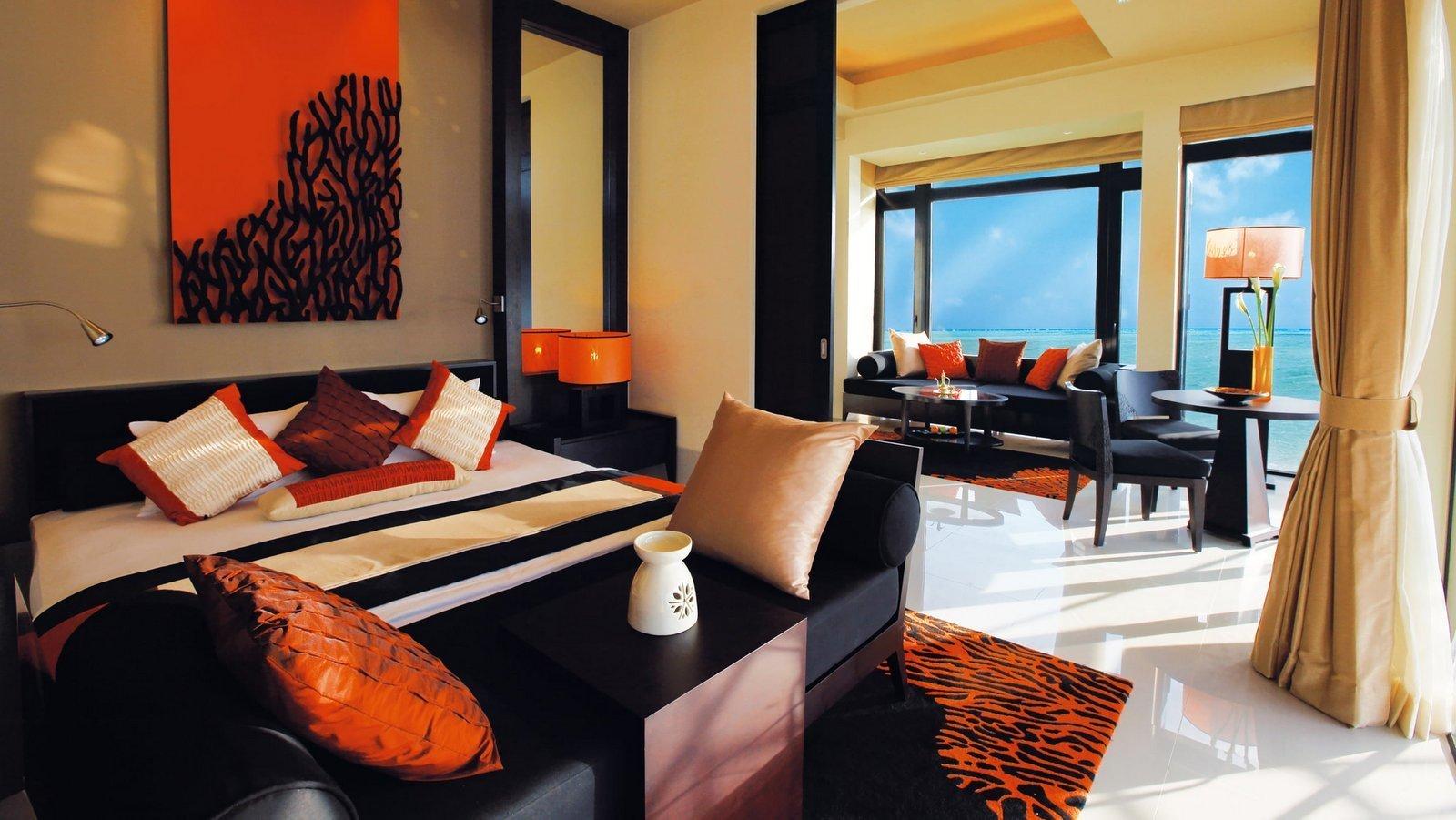 Мальдивы, отель Angsana Velavaru, номер Deluxe InOcean Two Bed Room Pool Villa