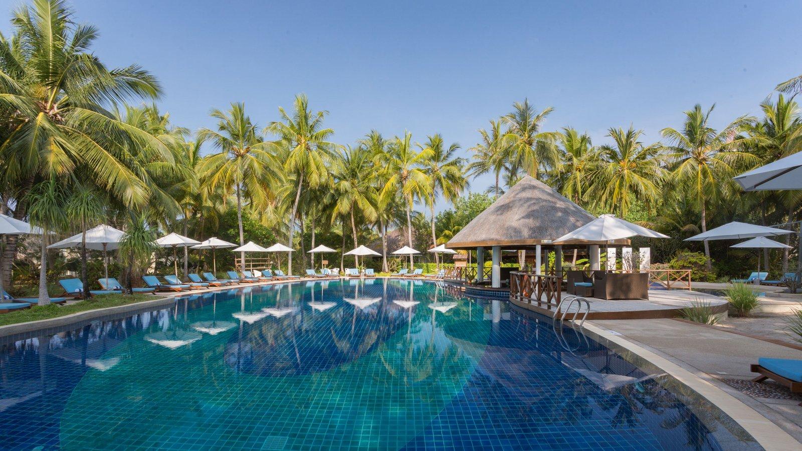 Мальдивы, отель Bandos Maldives, Pool Bar