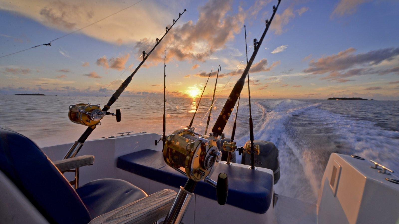 Мальдивы, отель Bandos Maldives, рыбалка