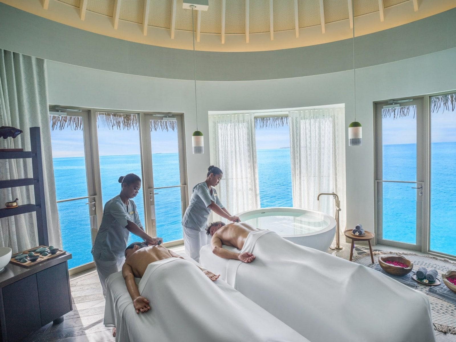 Мальдивы, отель Intercontinental Maldives Maamunagau, спа