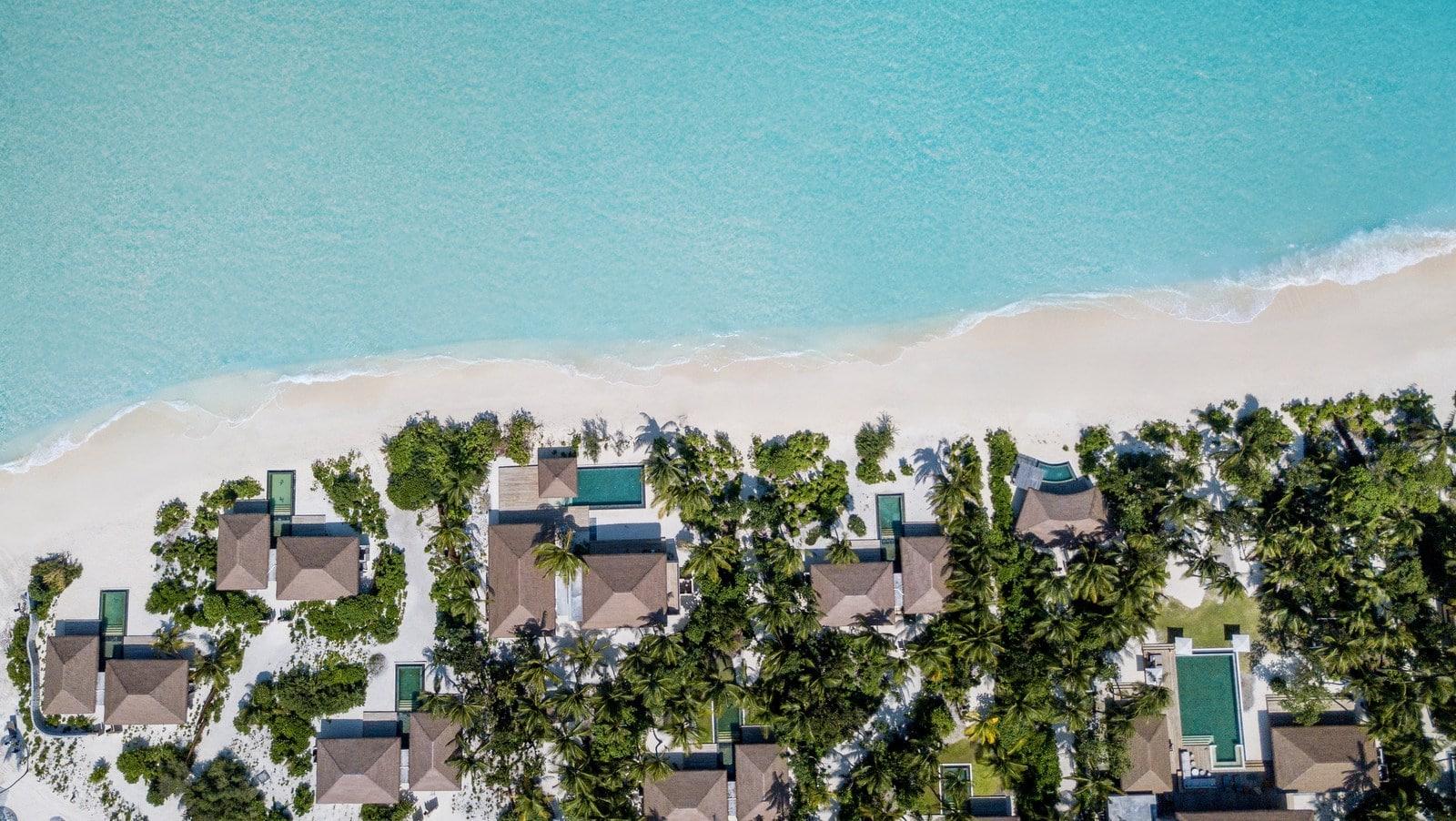Мальдивы, отель Intercontinental Maldives Maamunagau, пляж