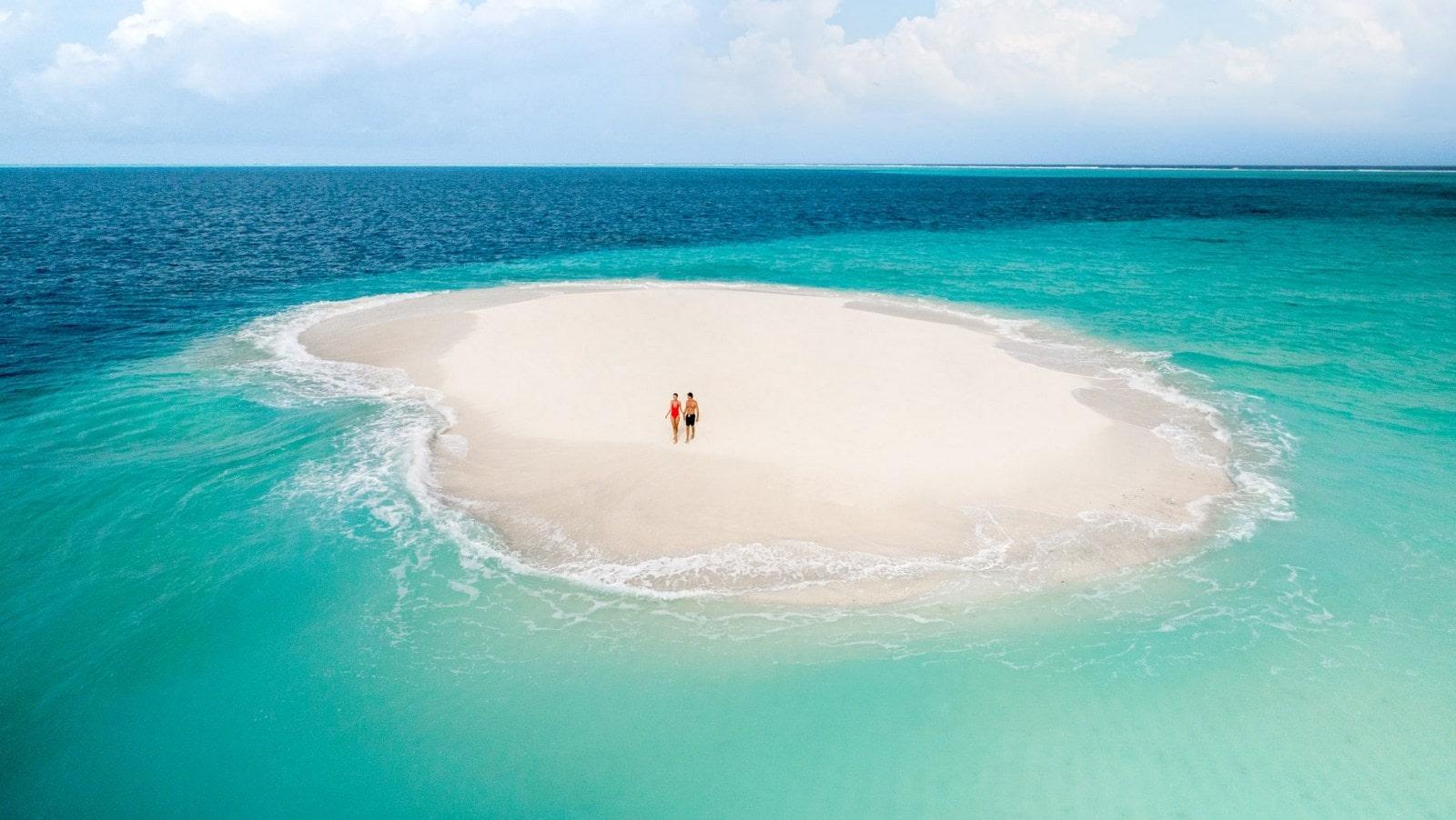 Мальдивы, отель Intercontinental Maldives Maamunagau, коса