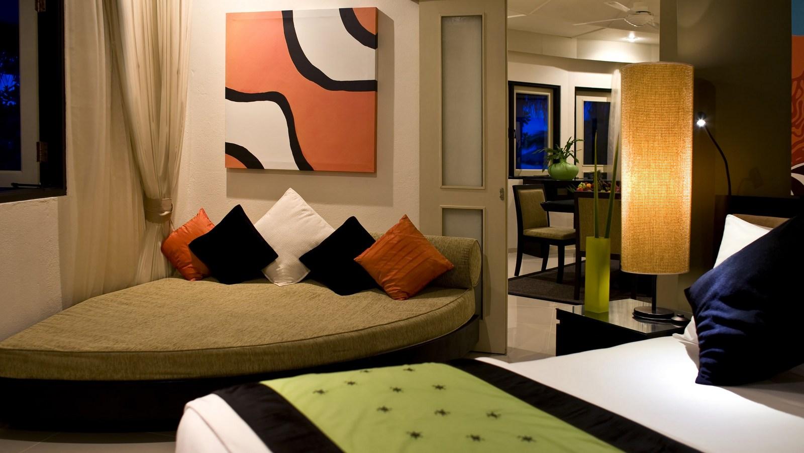 Мальдивы, отель Angsana Velavaru, номер Velavaru Angsana Three Bed Room Villa