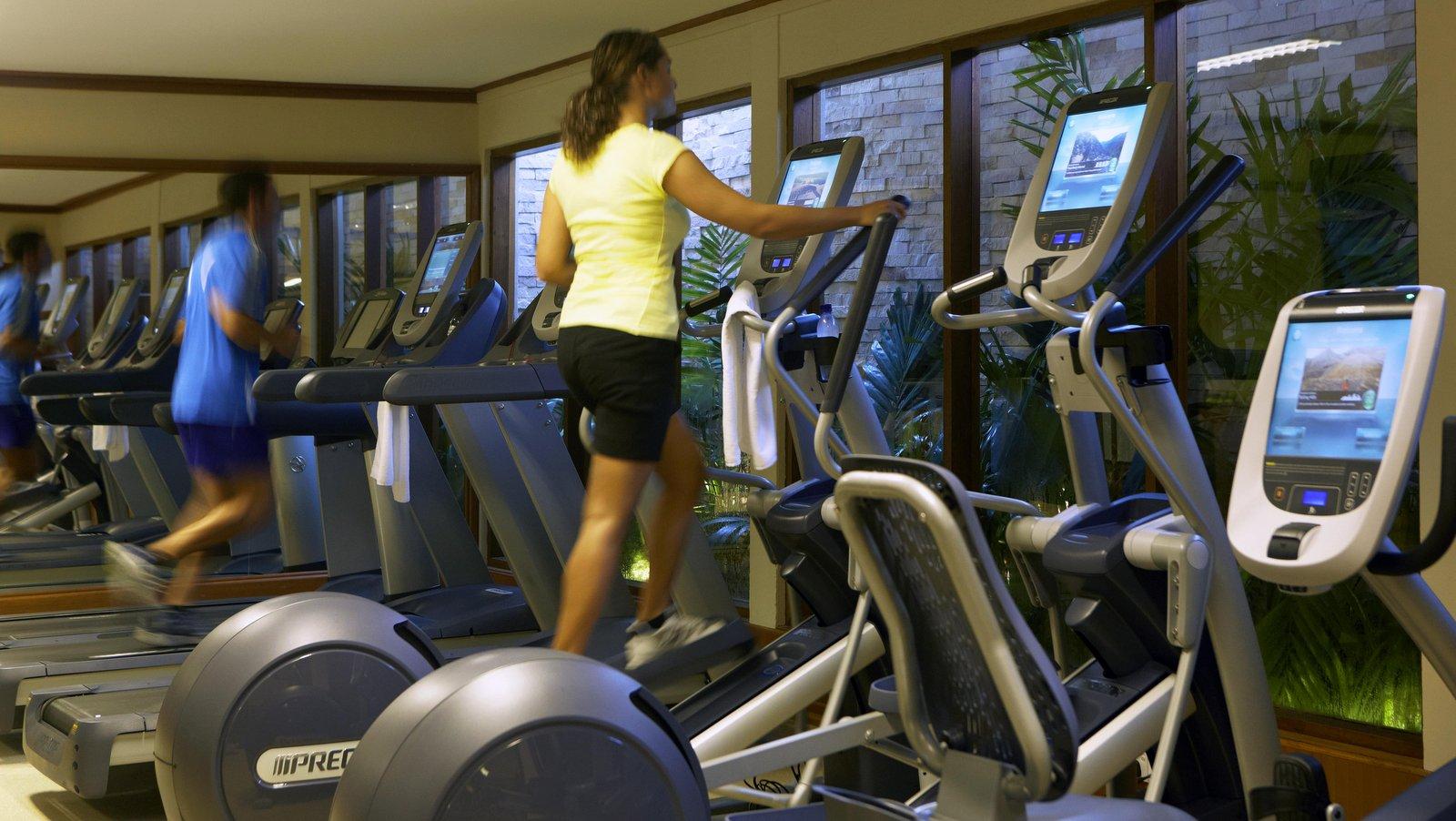 Мальдивы, отель Baros Maldives, фитнес центр