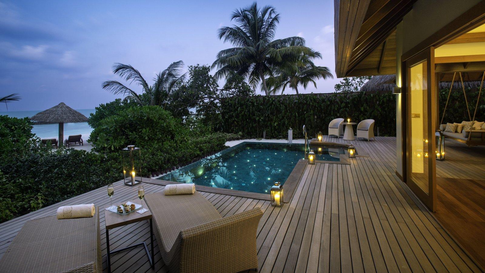 Мальдивы, отель Baros Maldives, номер Baros Suite