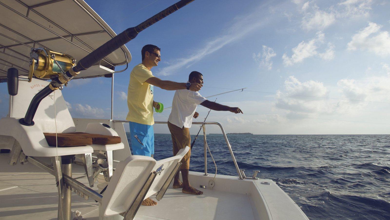 Мальдивы, отель Baros Maldives, рыбалка