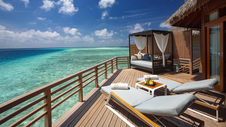 Мальдивы, отель Baros Maldives, номер Water Villa