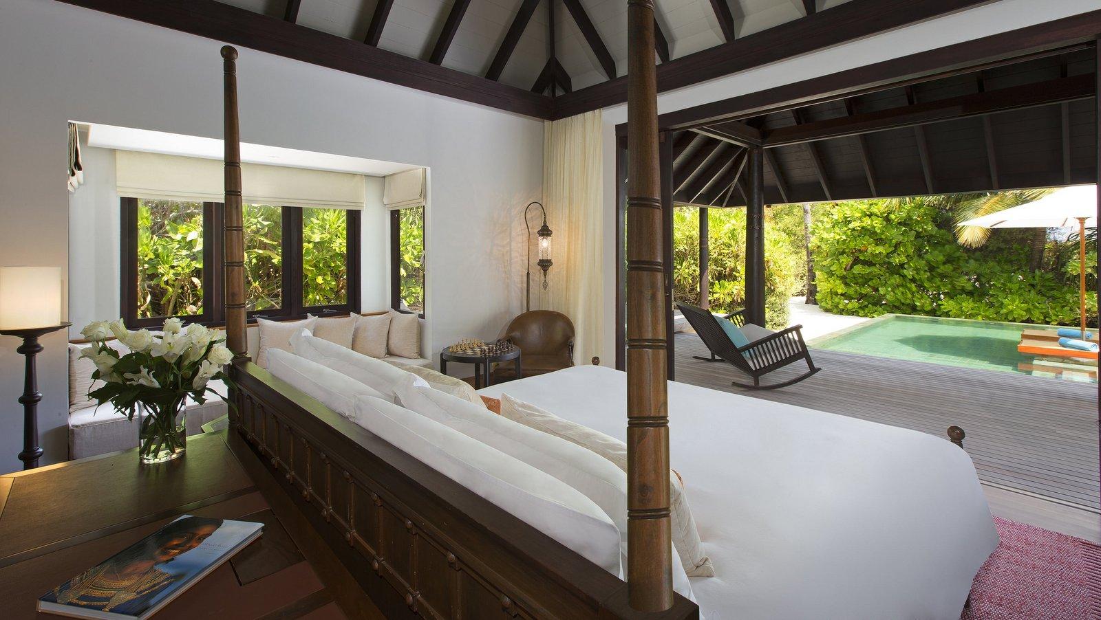 Мальдивы, отель Anantara Kihavah Maldives Villas, номер Two-Bedroom Beach Pool Residence