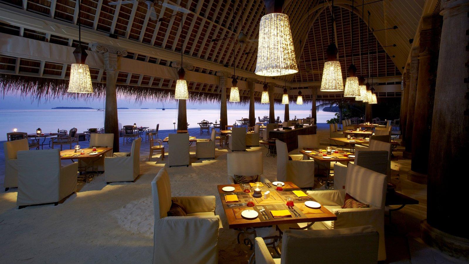 Мальдивы, отель Anantara Kihavah Maldives Villas, ресторан Plates