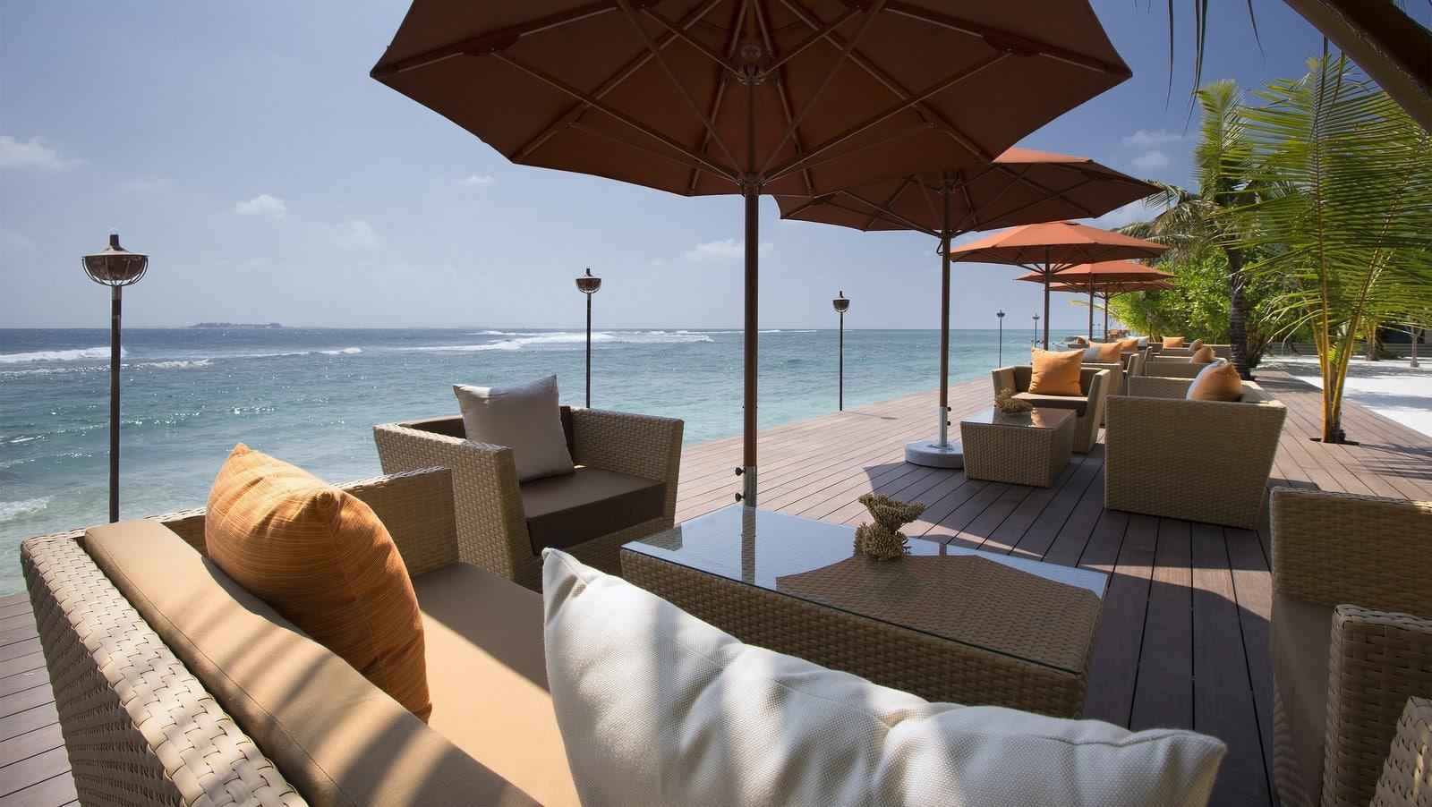 Мальдивы, отель Anantara Veli Resort, ресторан 73 Degrees