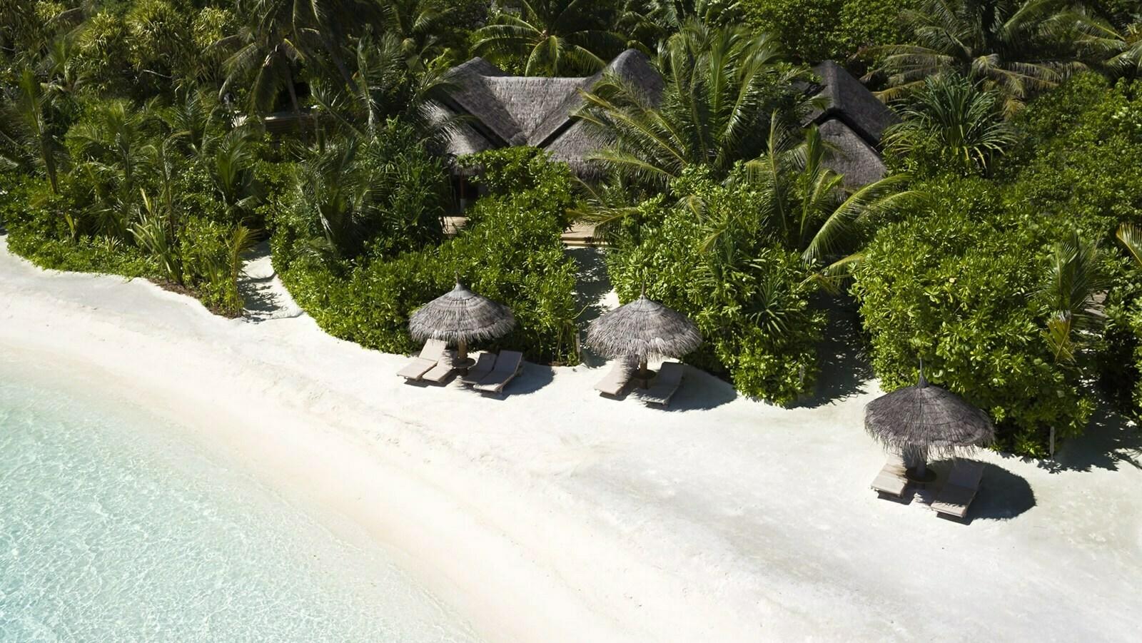 Мальдивы, отель Anantara Dhigu Maldives Resort, номер Two Bedroom Family Villa