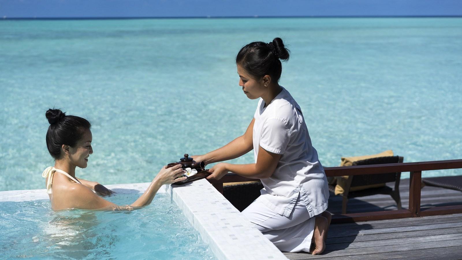 Мальдивы, отель Anantara Dhigu Maldives Resort, спа
