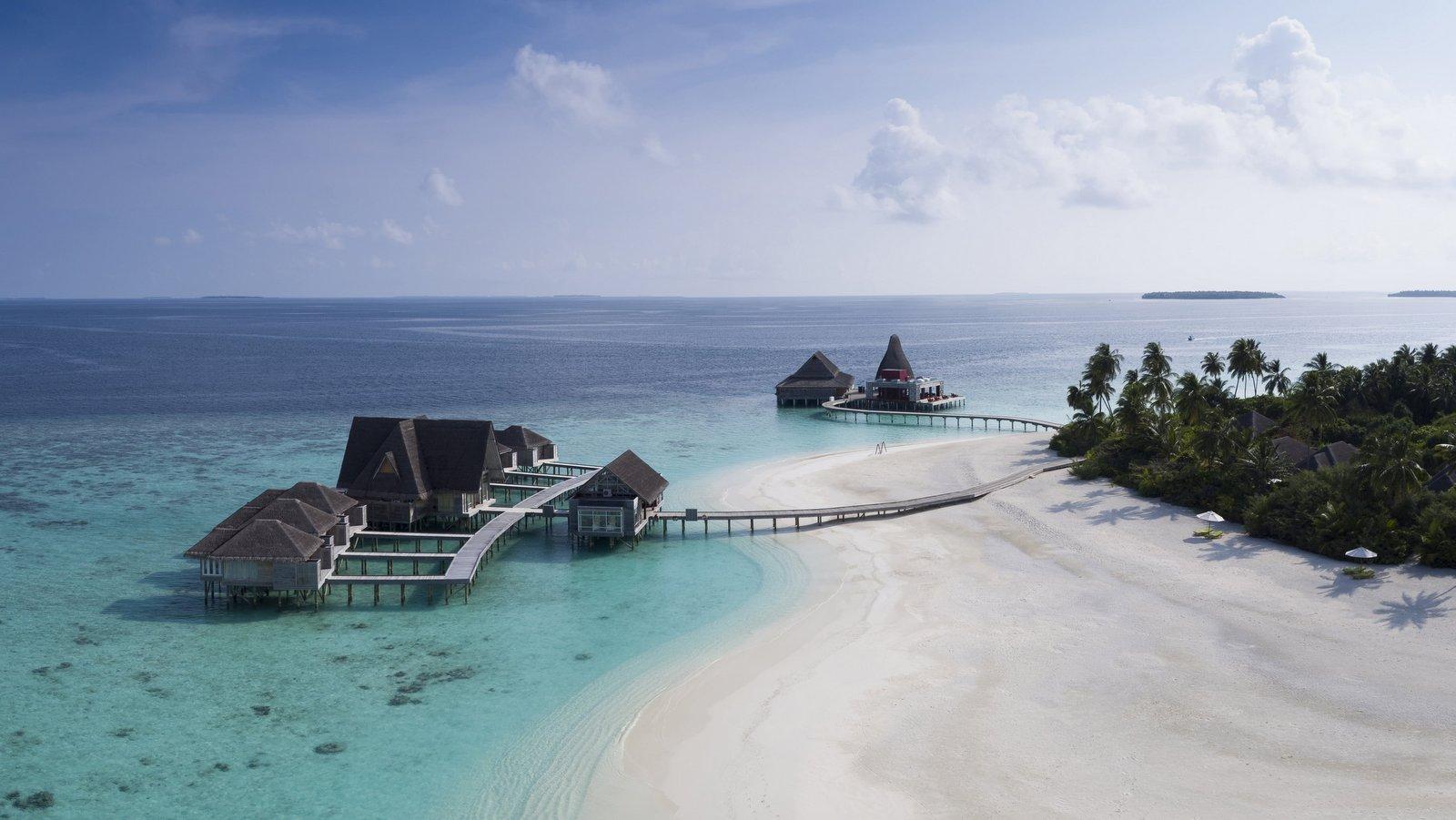 Мальдивы, отель Anantara Kihavah Maldives Villas, спа