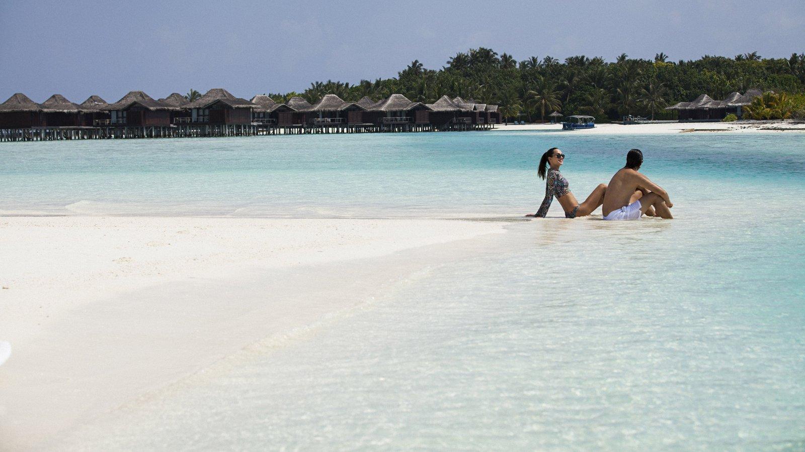 Мальдивы, отель Anantara Veli Resort, пляж