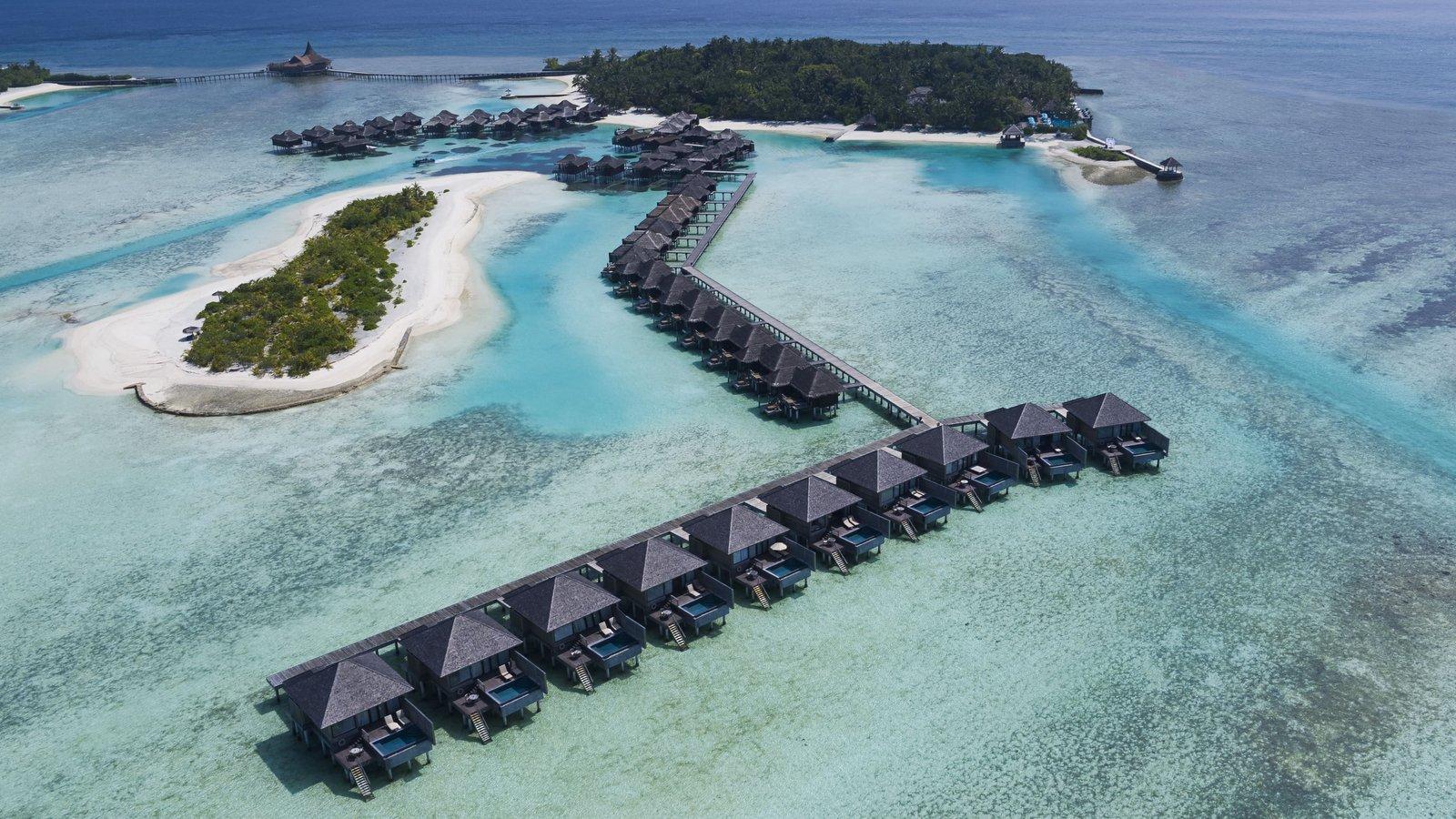 Мальдивы, отель Anantara Veli Resort, водные виллы