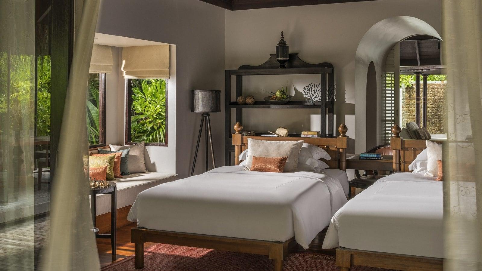 Мальдивы, отель Anantara Kihavah Maldives Villas, номер Three-Bedroom Presidential Beach Residence