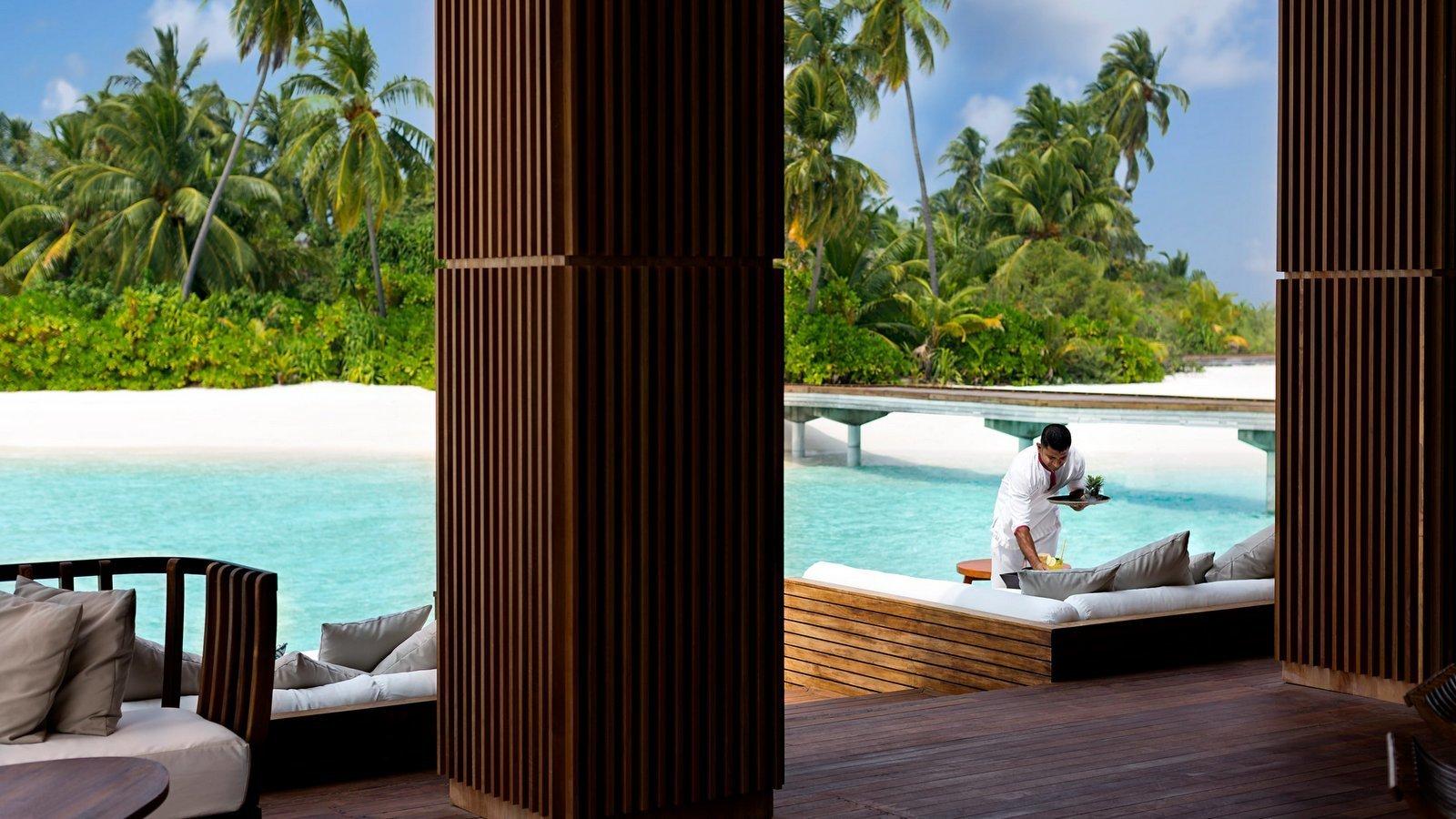 Мальдивы, отель Anantara Kihavah Maldives Villas, SkyBar