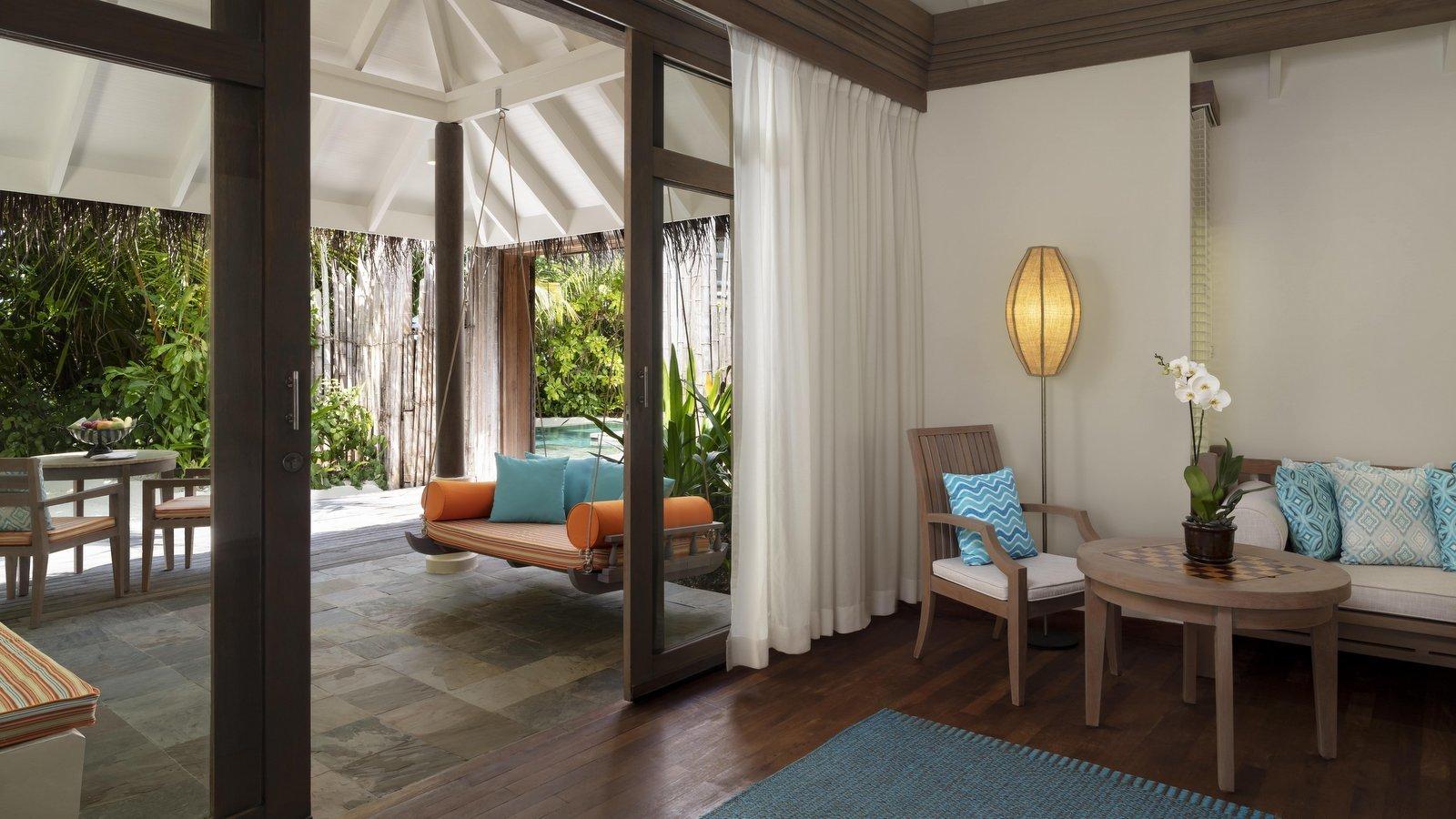 Мальдивы, отель Anantara Dhigu Maldives Resort, номер Two Bedroom Anantara Pool Villa