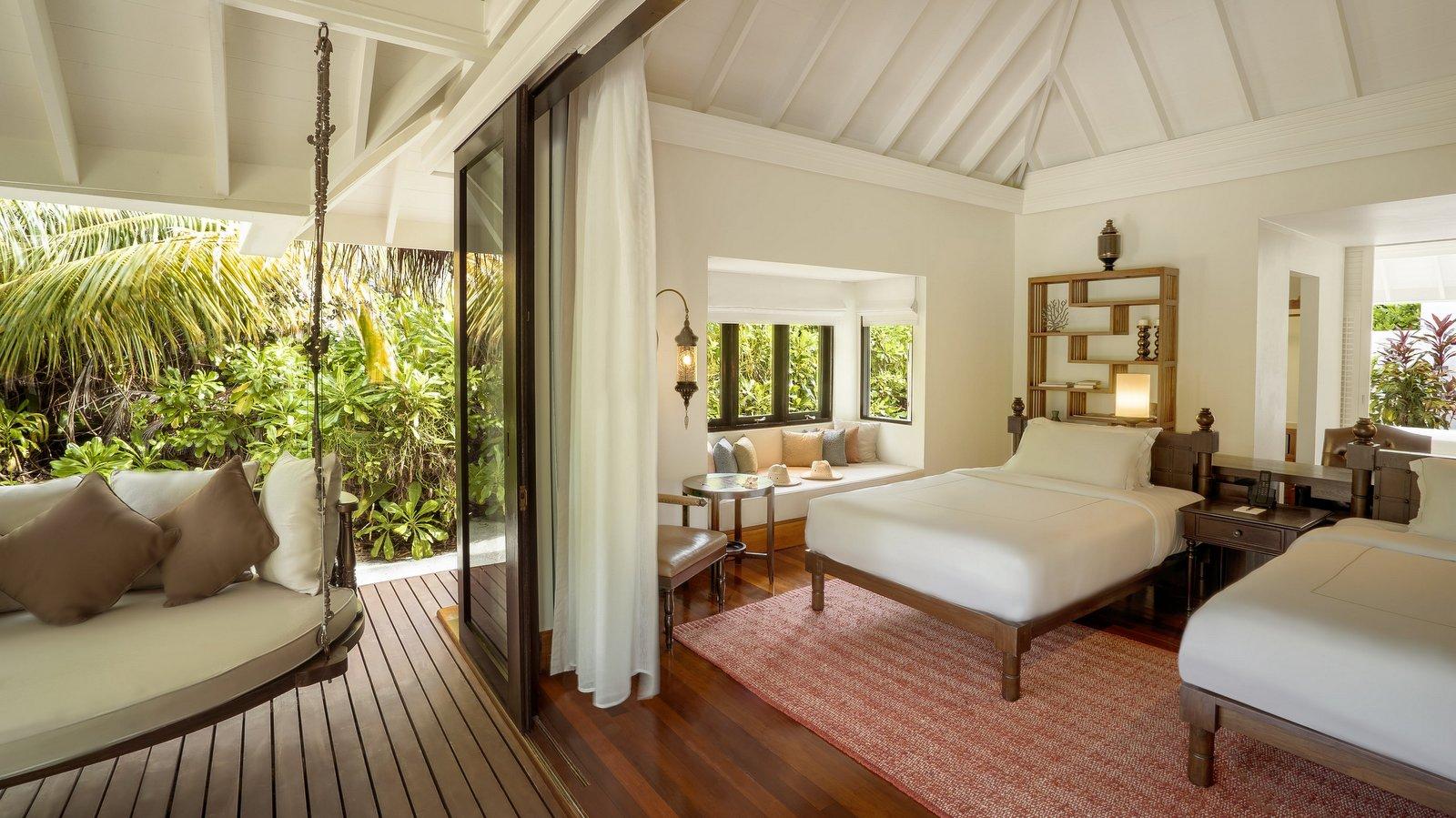 Мальдивы, отель Anantara Kihavah Maldives Villas, номер Family Beach Pool Villa