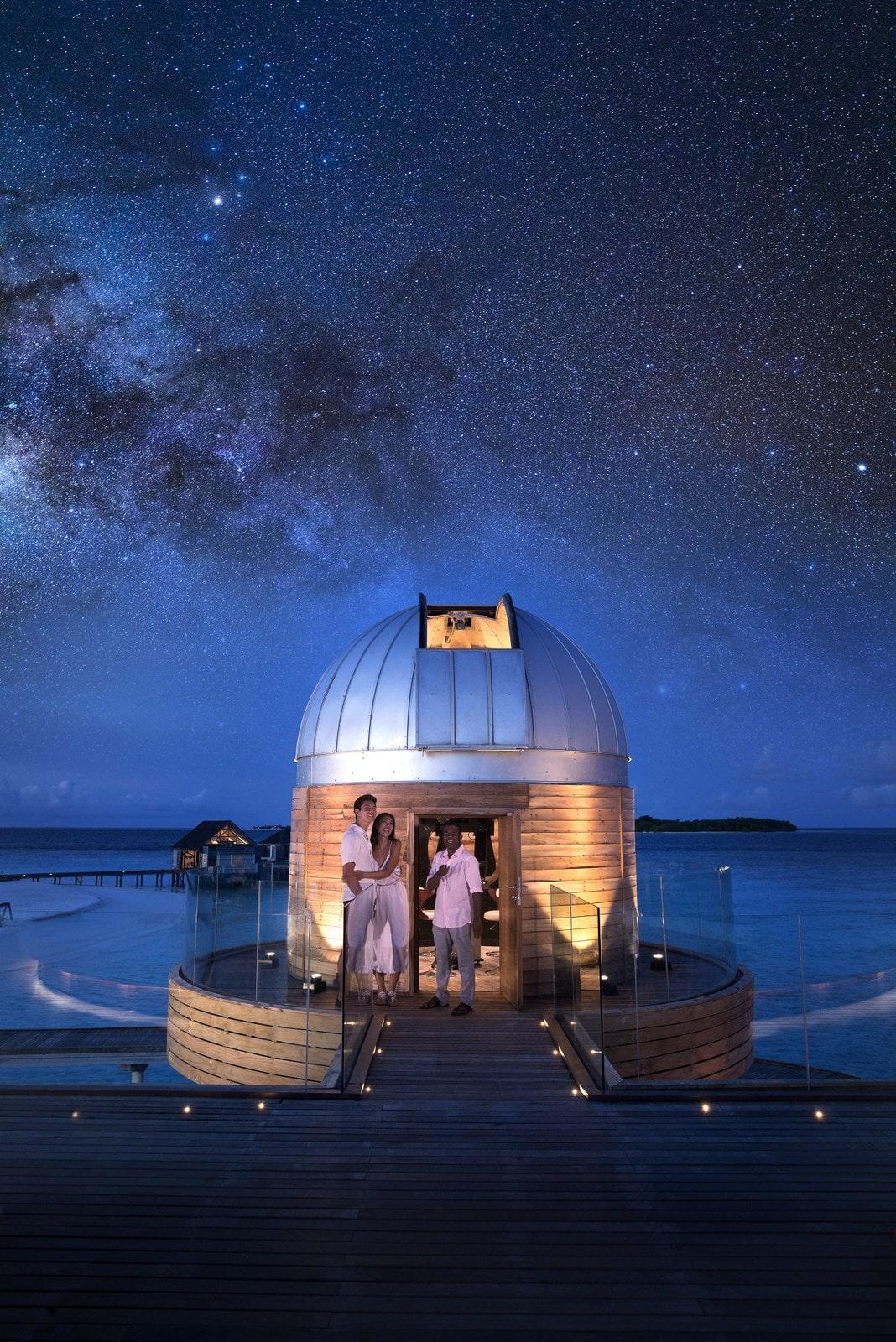 Мальдивы, отель Anantara Kihavah Maldives Villas, обсерватория