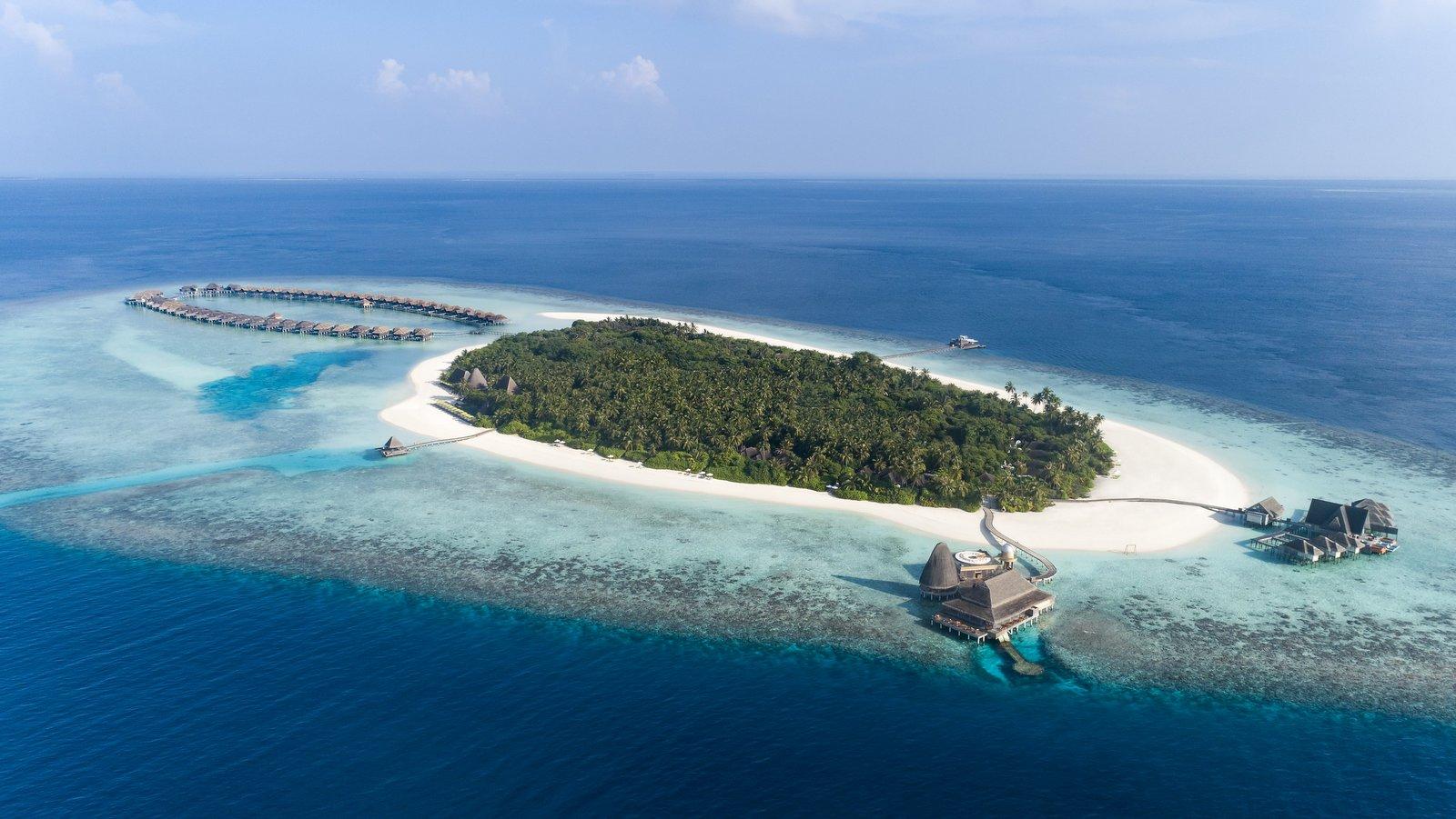 Мальдивы, отель Anantara Kihavah Maldives Villas, остров