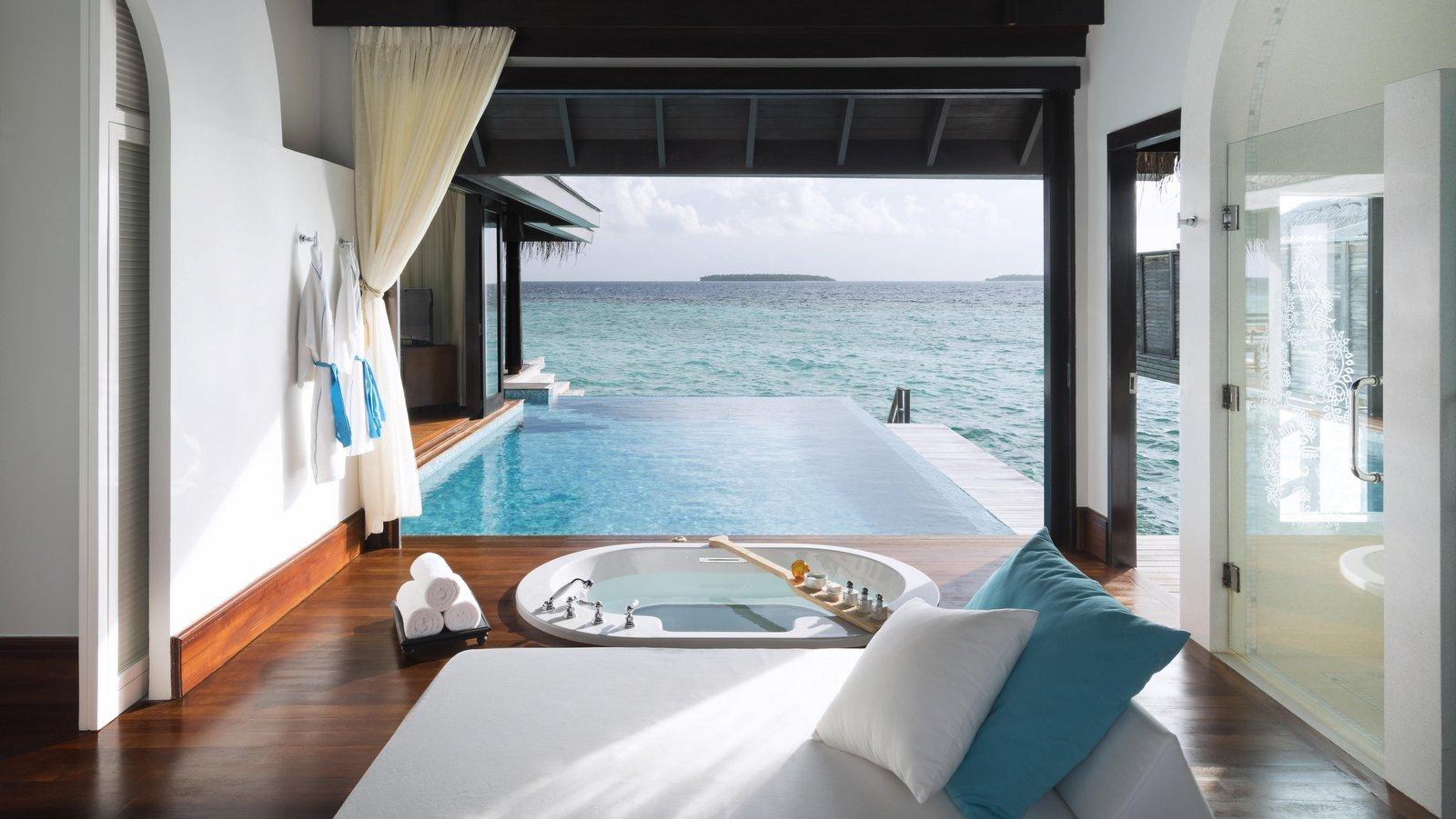 Мальдивы, отель Anantara Kihavah Maldives Villas, номер Over Water Pool Villa