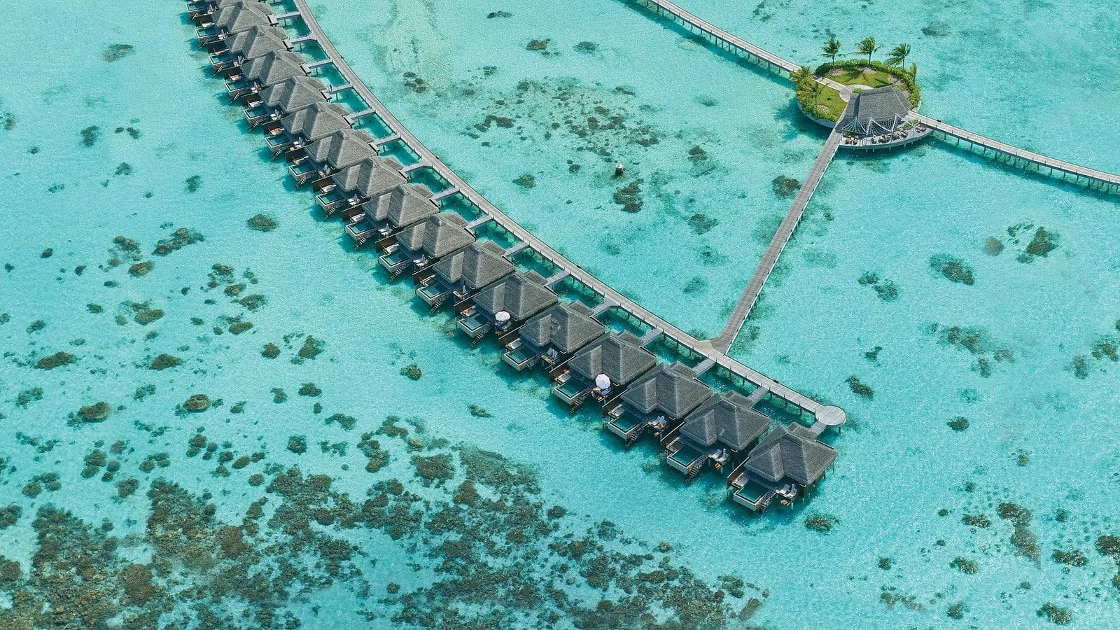 Мальдивы, отель Ayada Maldives, водные виллы